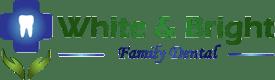 White & Bright Family Dentist Logo